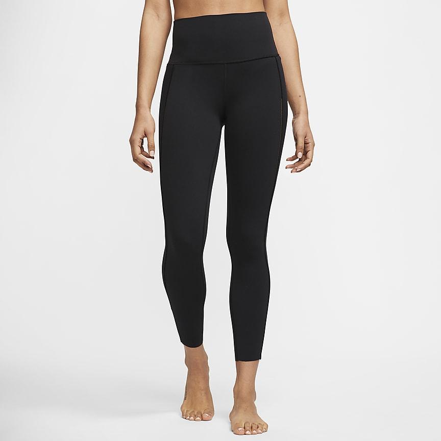 Ribbade tights Infinalon i 7/8-längd för kvinnor