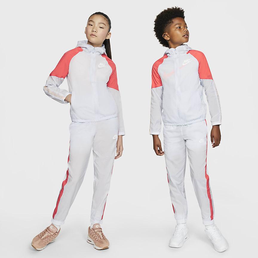 Conjunto de entrenamiento tejido para niños talla grande