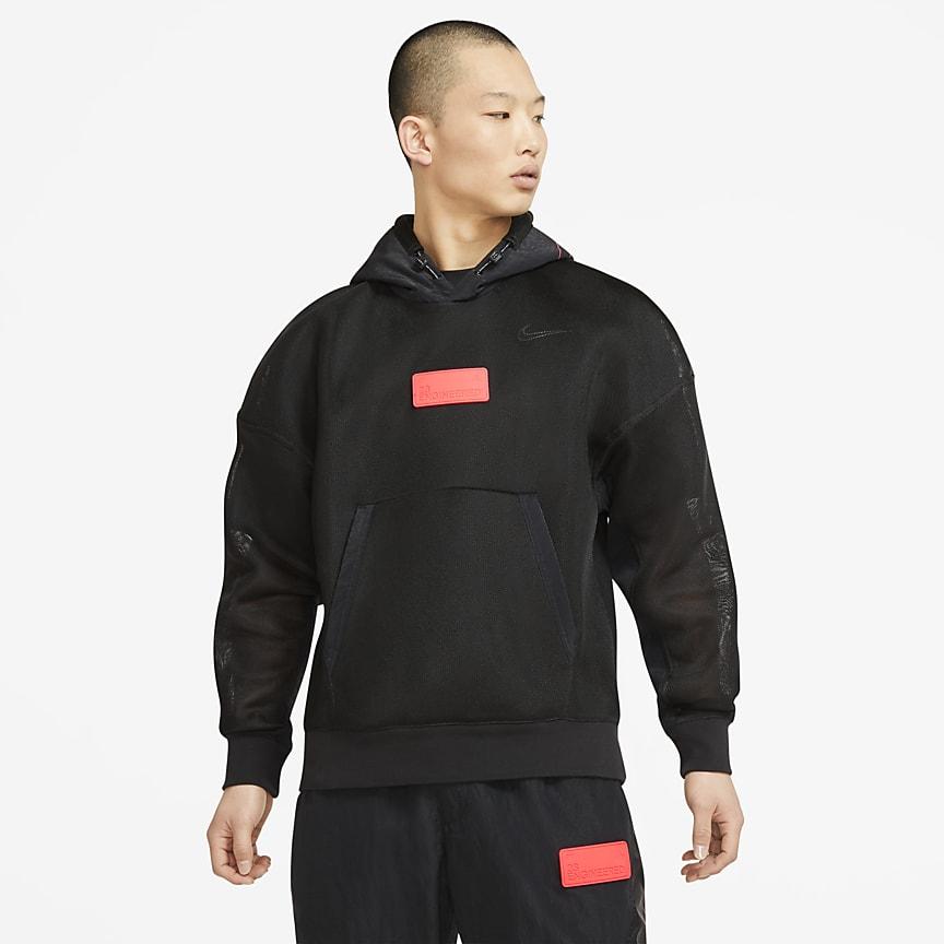 Men's Spacer Mesh Pullover