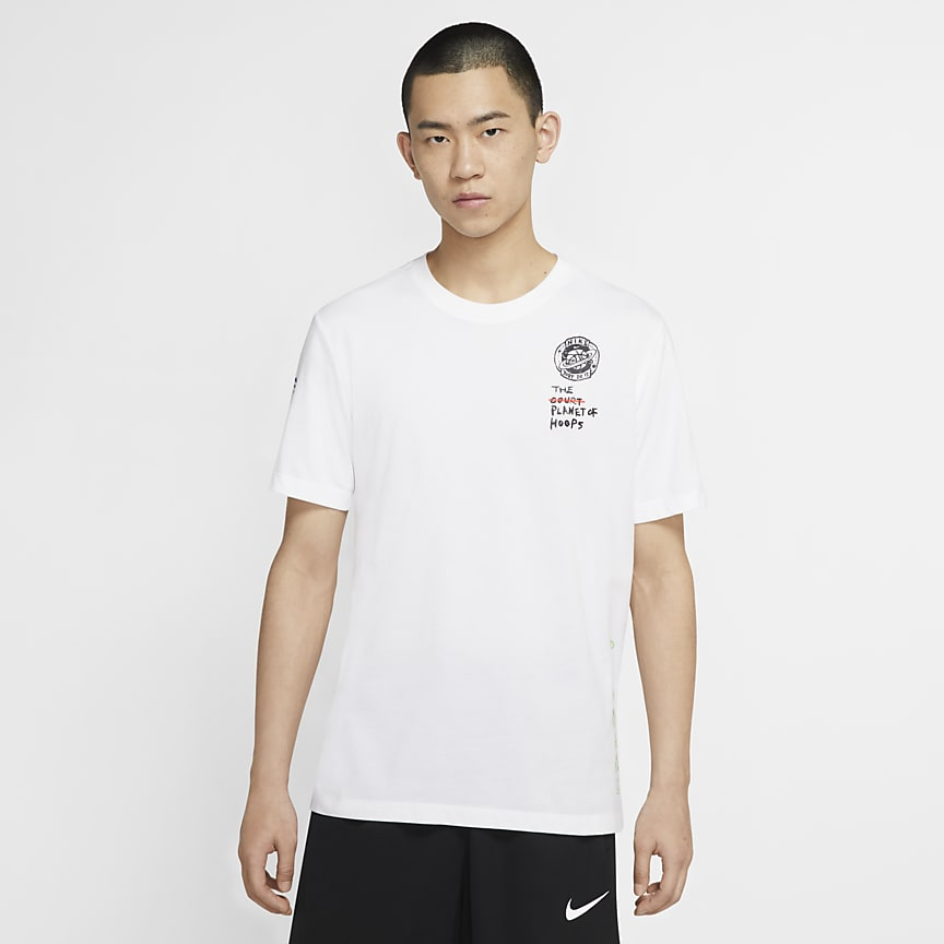 男子短袖篮球T恤