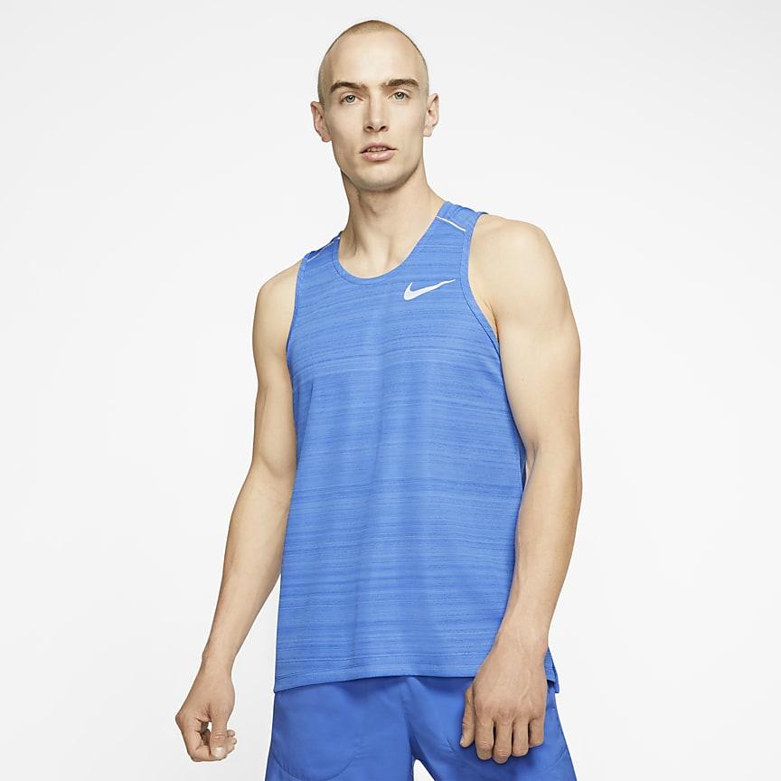 Camiseta de tirantes de running para hombre