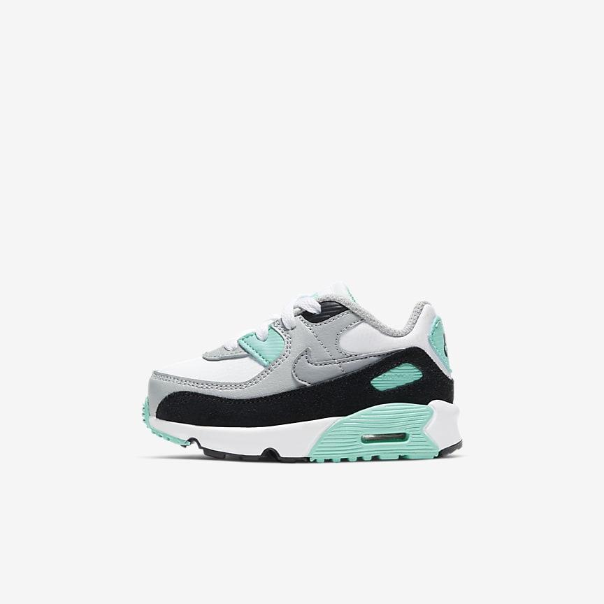 Nytt erbjudande Nike Nike Air Max 90 Ltr (Ps) barn Sneakers