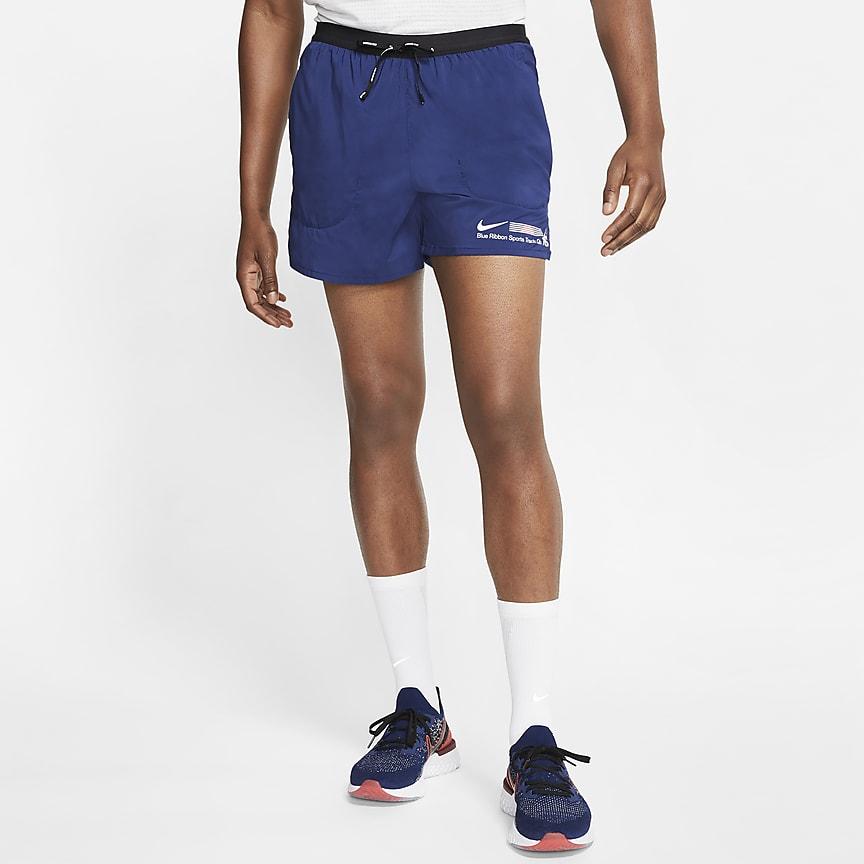 Calções de running forrados com slip de 13 cm para homem