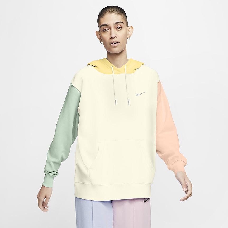 Hoodie pullover com Swoosh para mulher