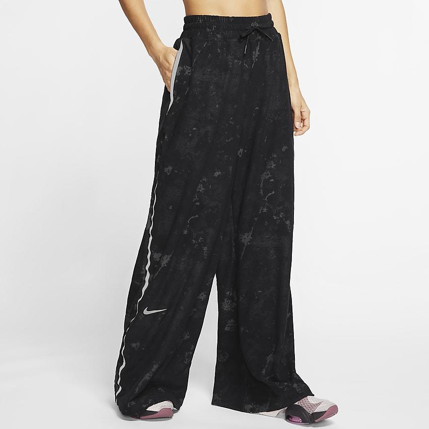 Damskie spodnie treningowe z dzianiny