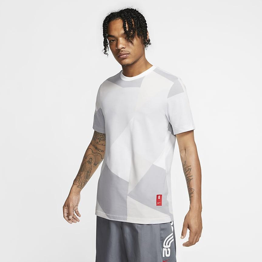 Męski T-shirt do koszykówki