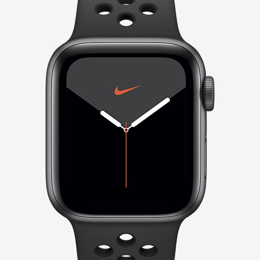 Reloj con caja de aluminio en gris espacial de 40 mm
