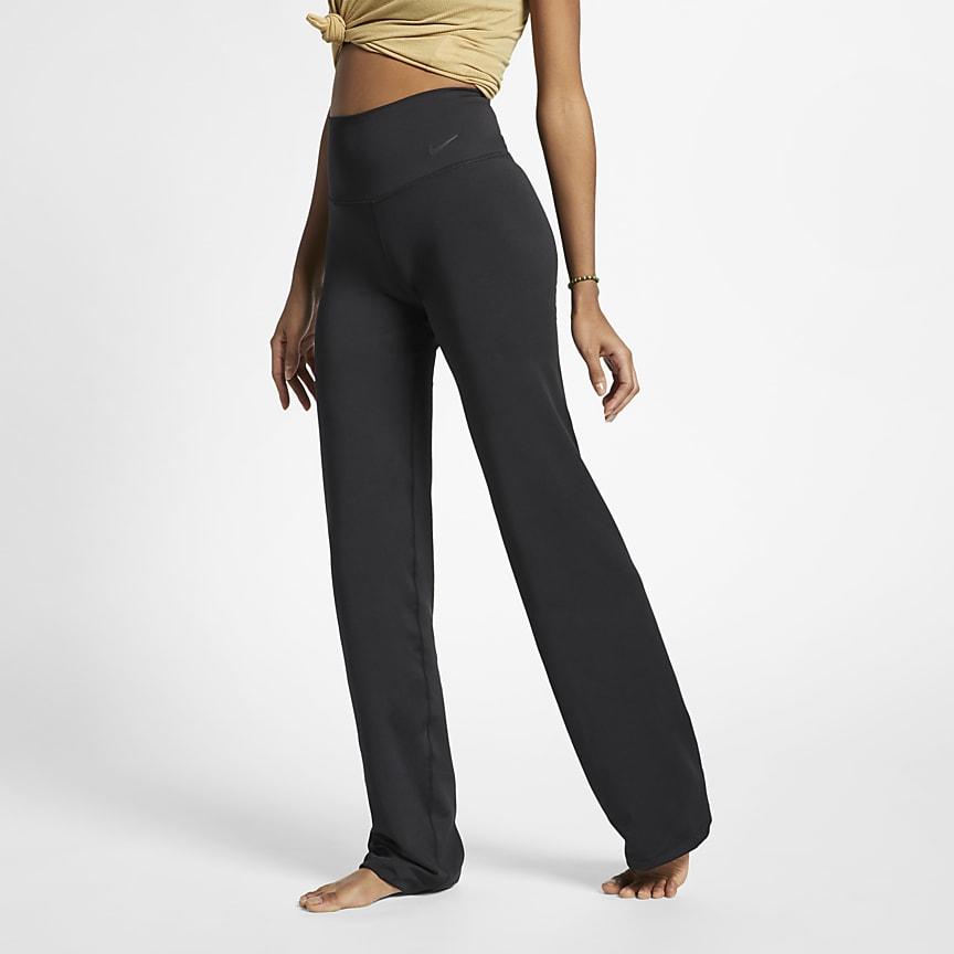 Damskie spodnie treningowe do jogi