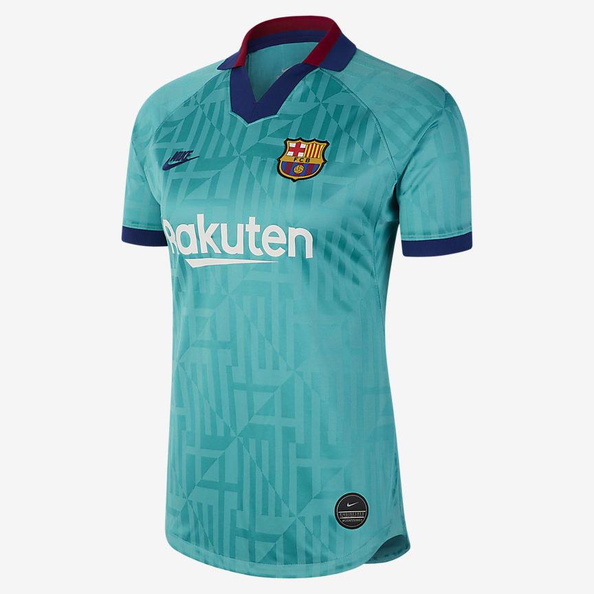 Camisola de futebol para mulher