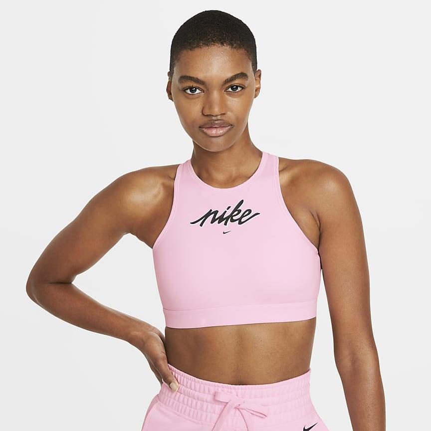 女款中度支撐型一片式襯墊運動內衣