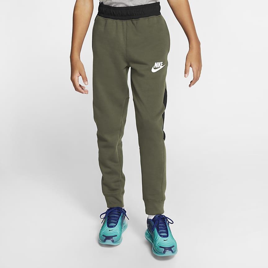 Běžecké kalhoty pro větší děti (chlapce)