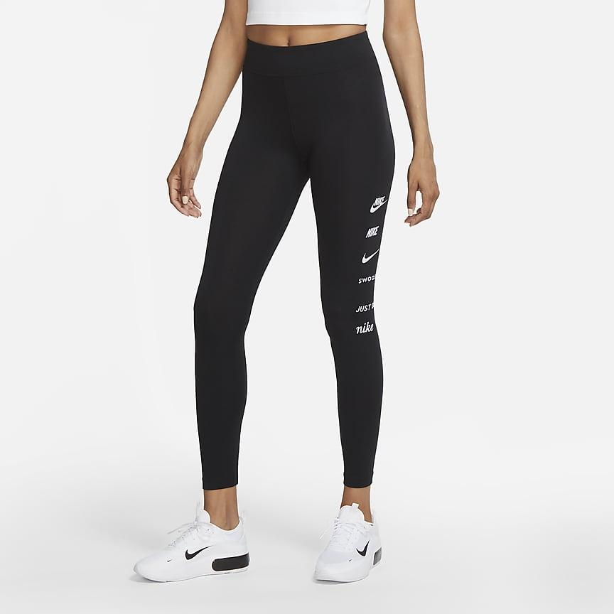 Damen-Leggings mit hohem Bund