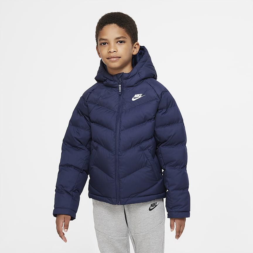 Szintetikus töltésű kabát nagyobb gyerekeknek