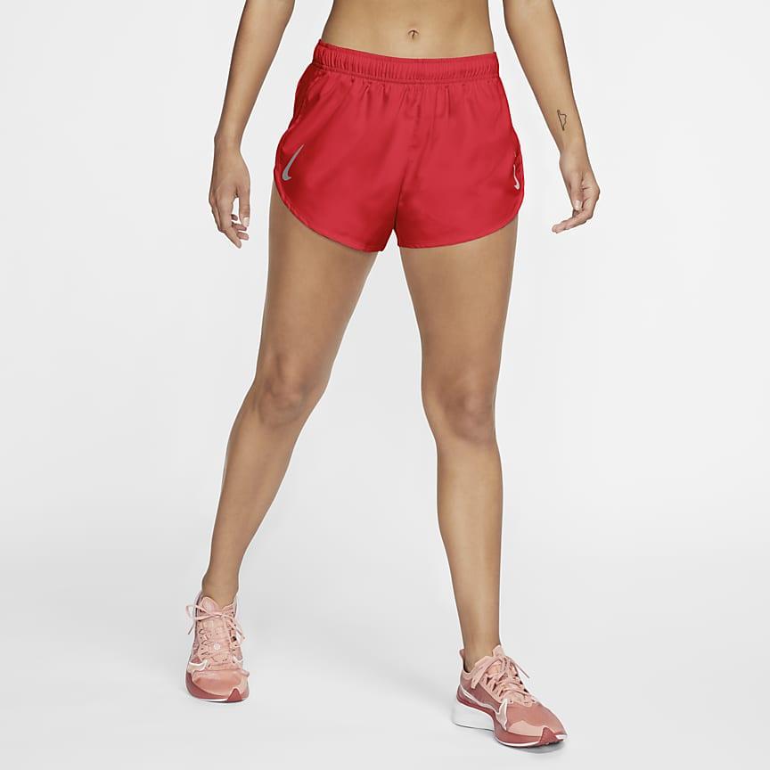 Løbeshorts med højt snit til kvinder