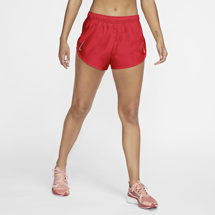 Pantalons curts de tall alt de running - Dona