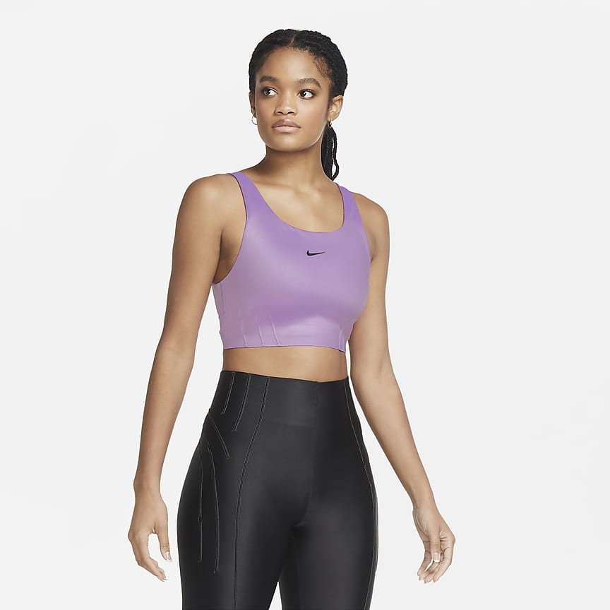 Women's Medium-Support 1-Piece Pad Longline Sports Bra