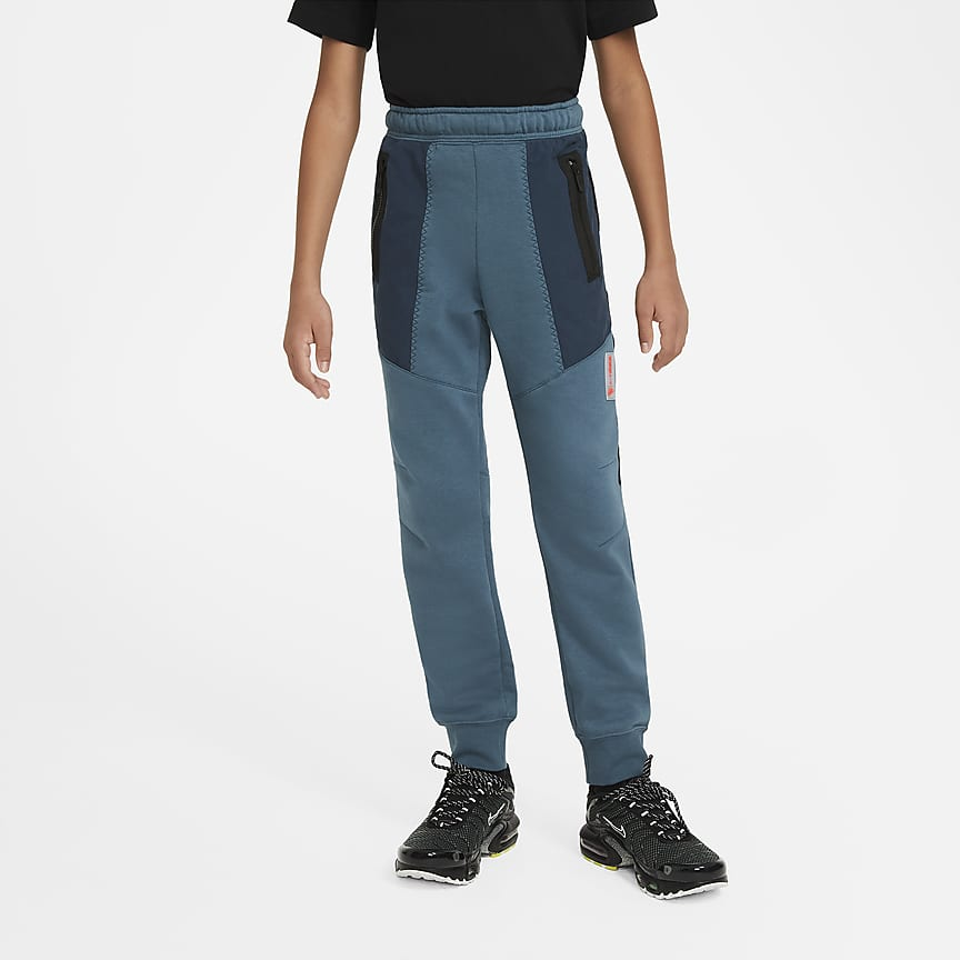 Flísové kalhoty pro větší děti (chlapce)