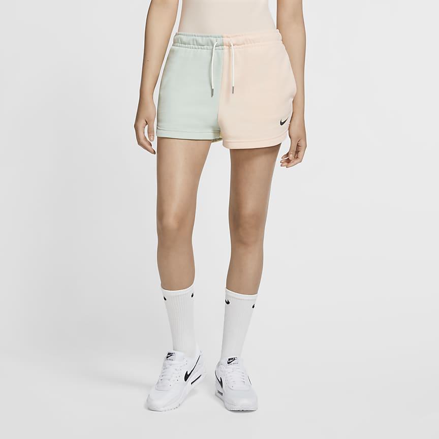 Pantalón corto de tejido French terry - Mujer
