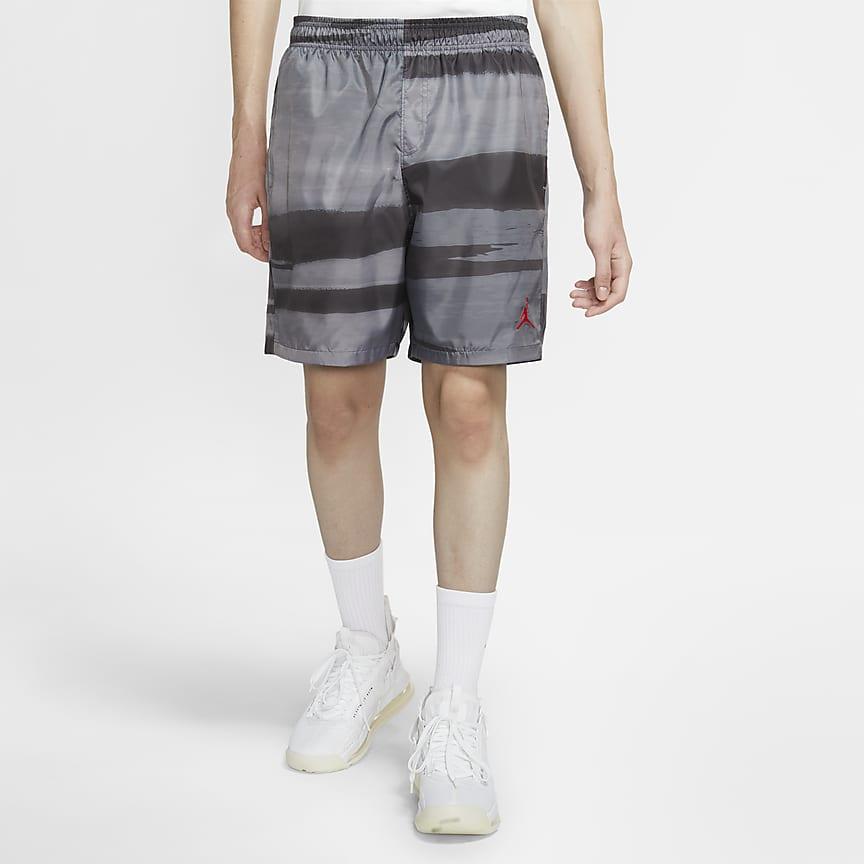男款印花短褲
