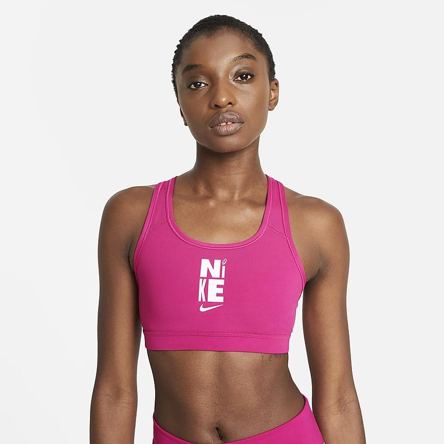 女款中度支撐型無襯墊運動內衣