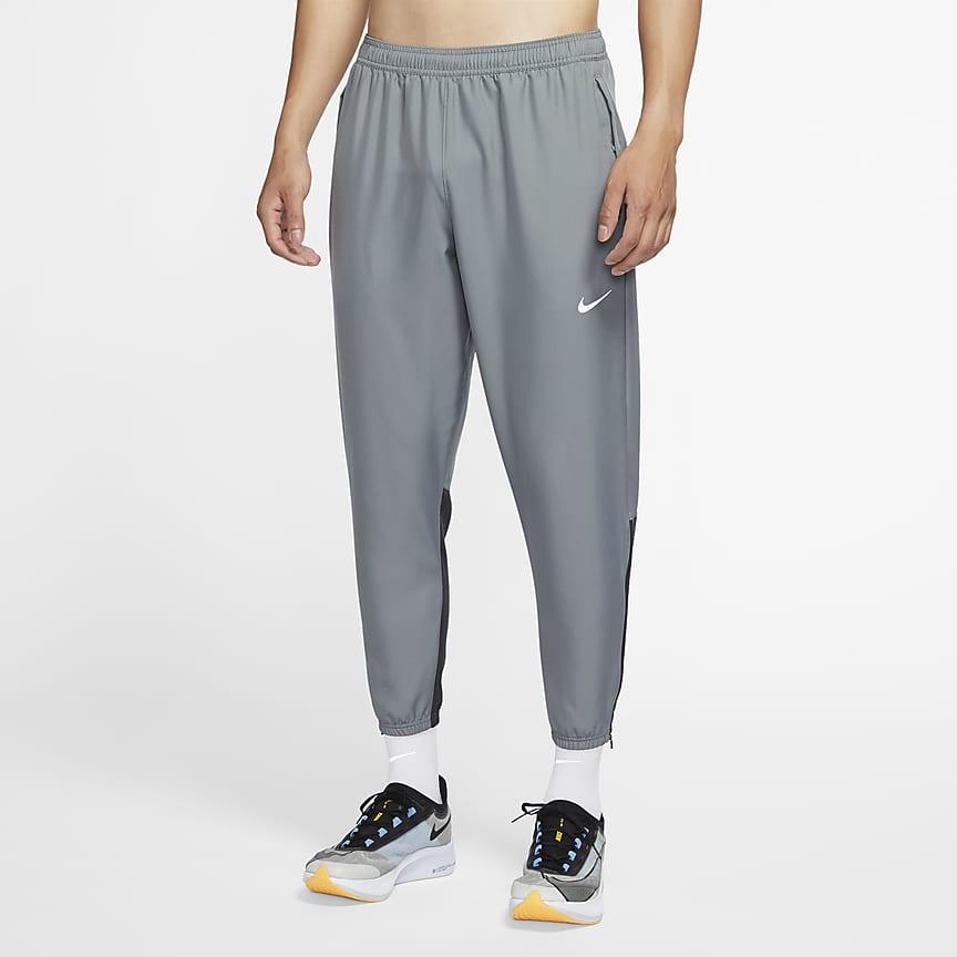 Pánské tkané běžecké kalhoty