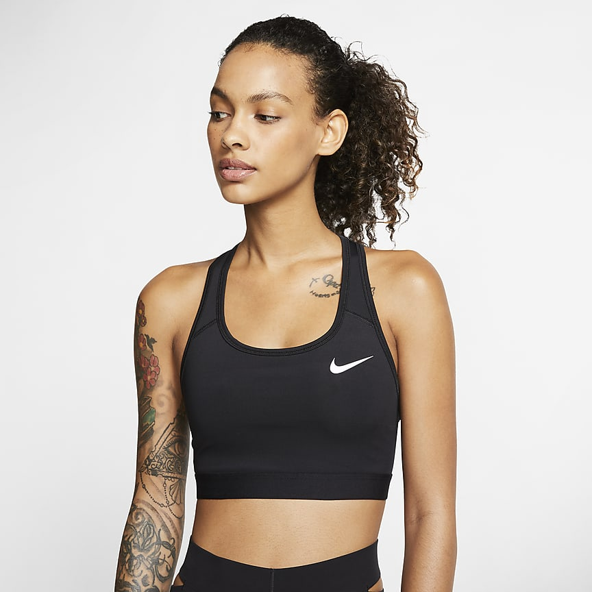 Women's Medium-Support Non-Padded Sports Bra