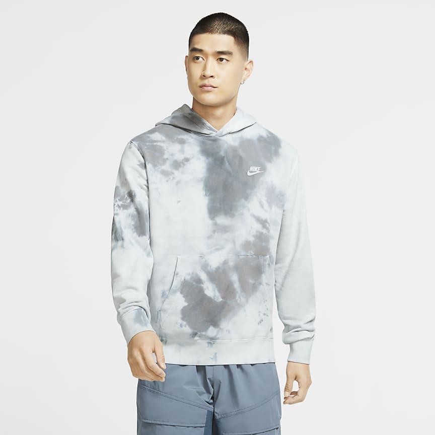 Sweat à capuche tie-dye