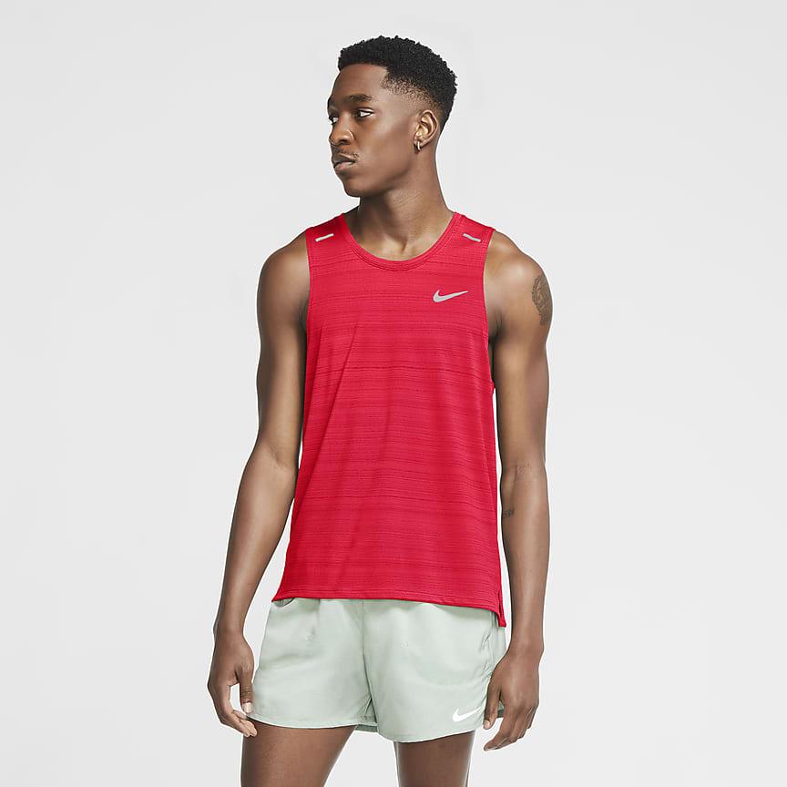 Męska koszulka bez rękawów do biegania