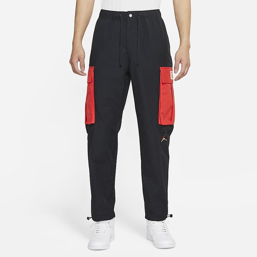 男子工装长裤