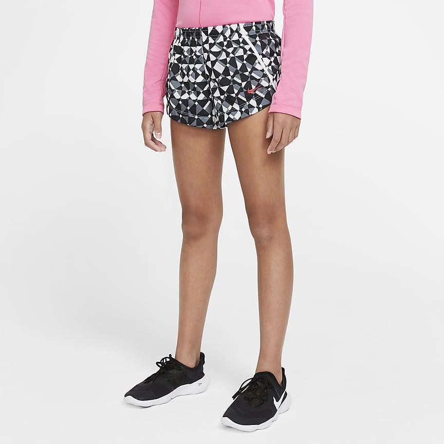Big Kids' (Girls') Printed Training Shorts