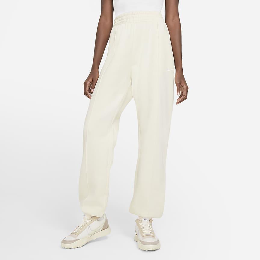 Pantalones de tejido Fleece para mujer