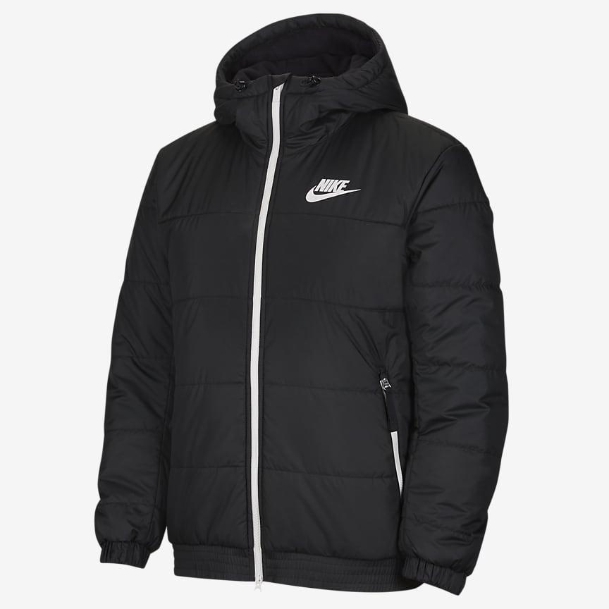 Мужская куртка с капюшоном и молнией во всю длину