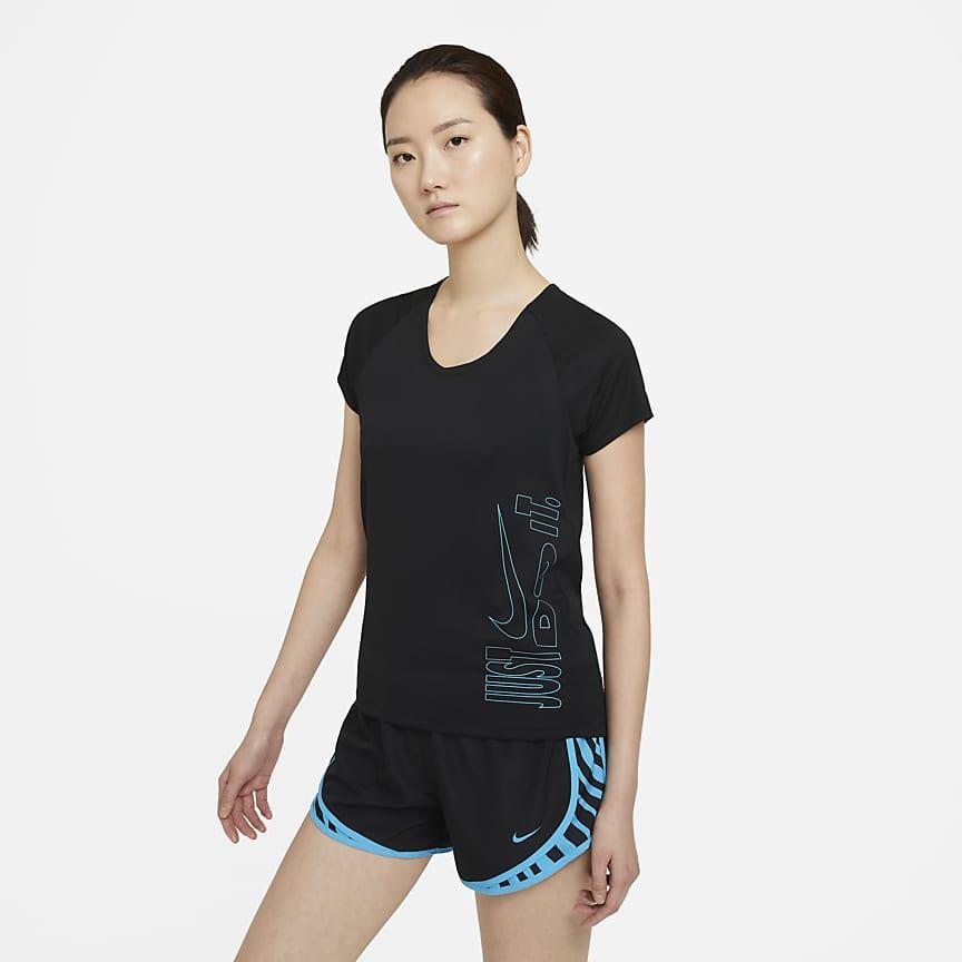 女款短袖跑步上衣
