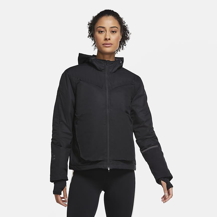 Женская беговая куртка с системой Dynamic Vent
