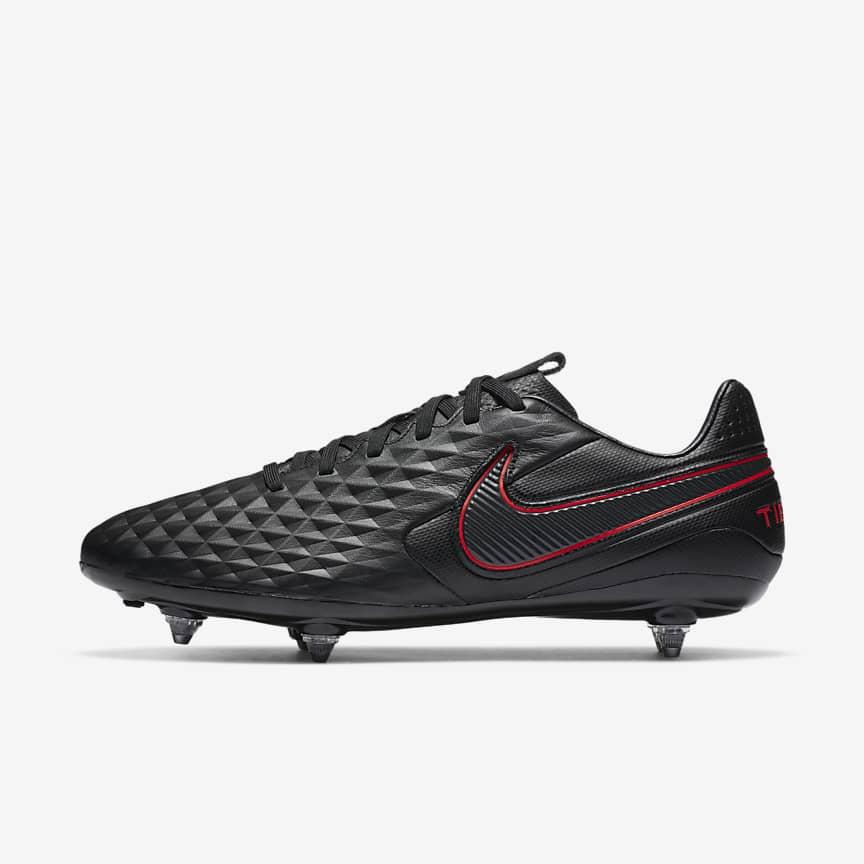 Chaussure de football à crampons pour terrain gras