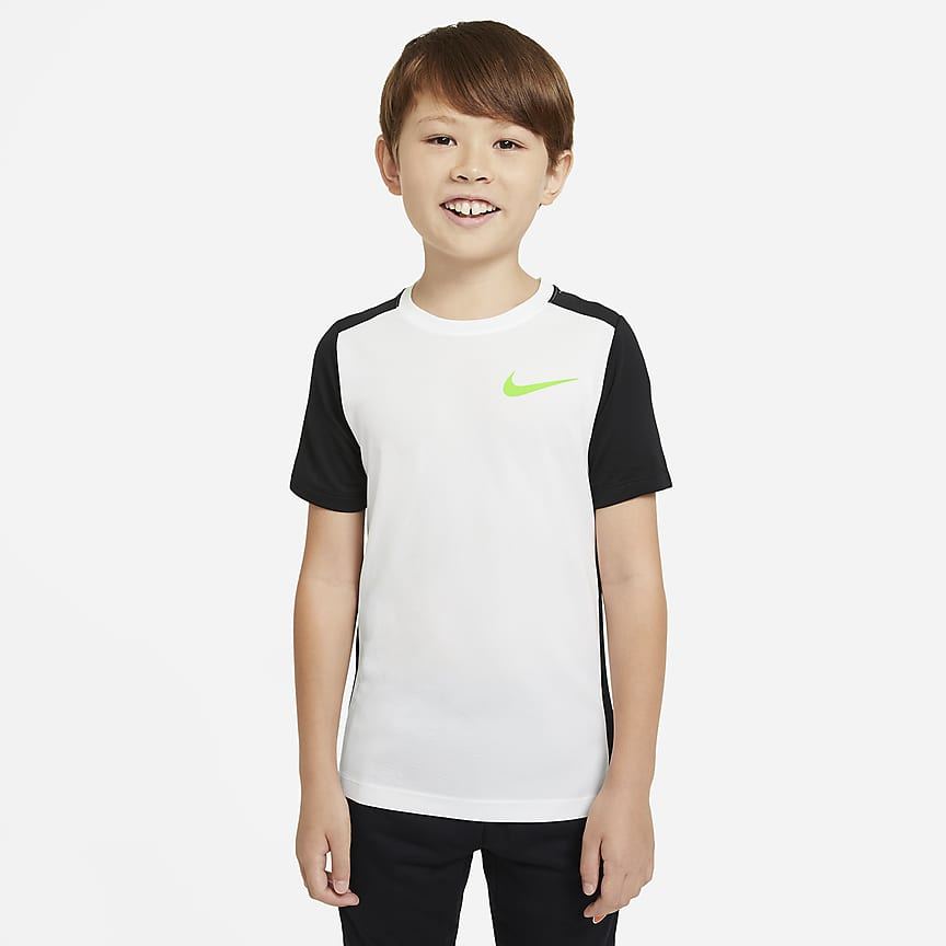 Older Kids' (Boys') Short-Sleeve Training Top