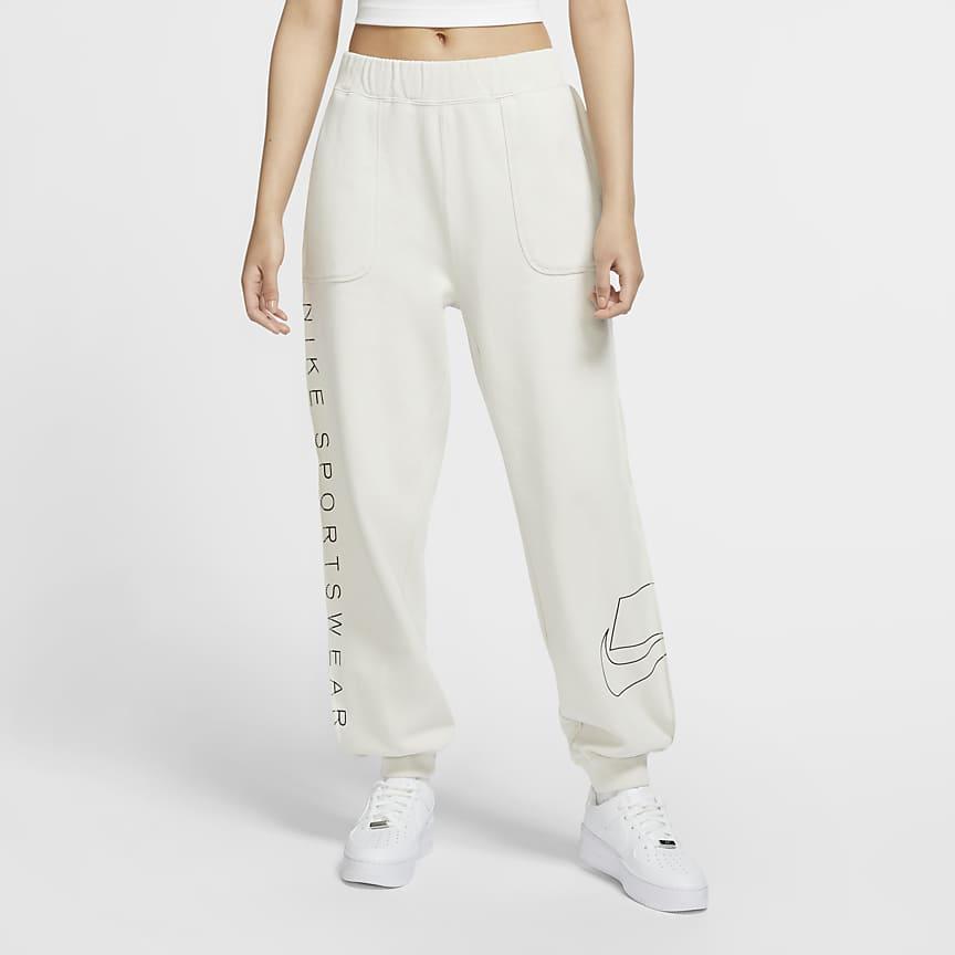 Pantalón de tejido Fleece - Mujer