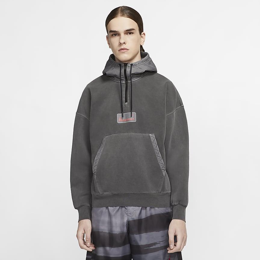 Sudadera con capucha de tejido Fleece - Hombre