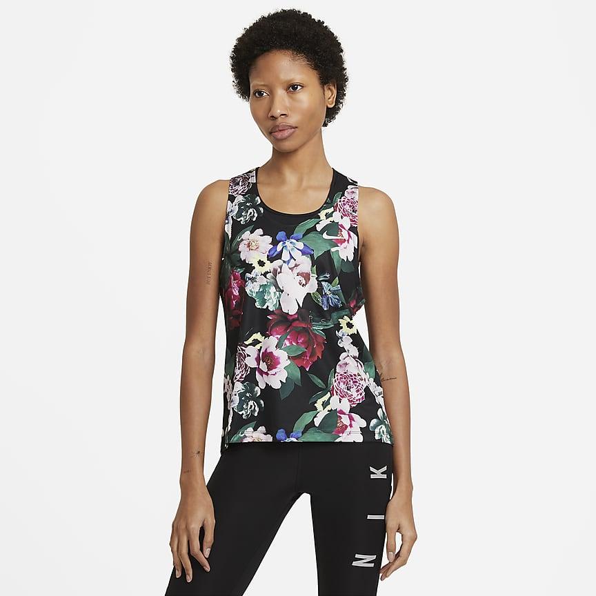 Camiseta de tirantes de running para mujer