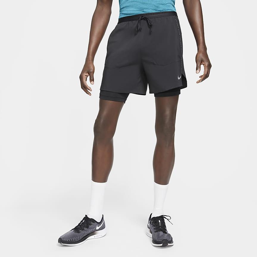 Pantalón corto de running híbrido - Hombre