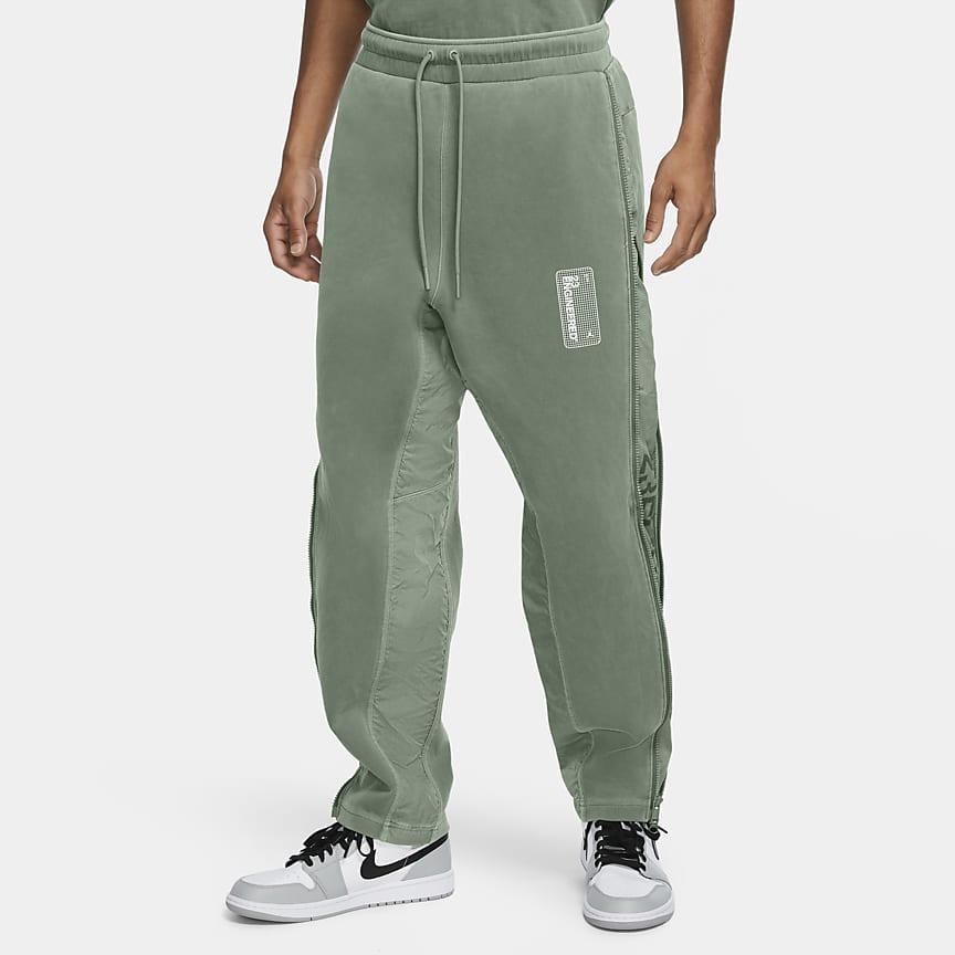Pantalones de tejido Fleece para hombre