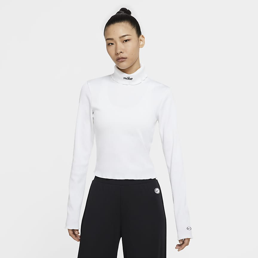 Women's Ribbed Long-Sleeve Top
