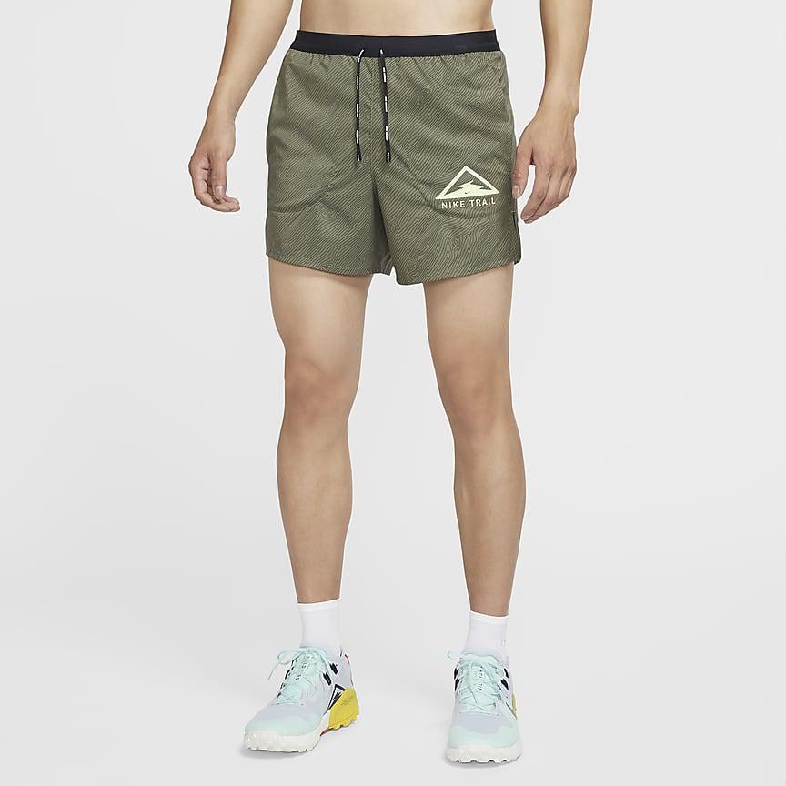"""男款 5"""" 越野跑步短褲"""