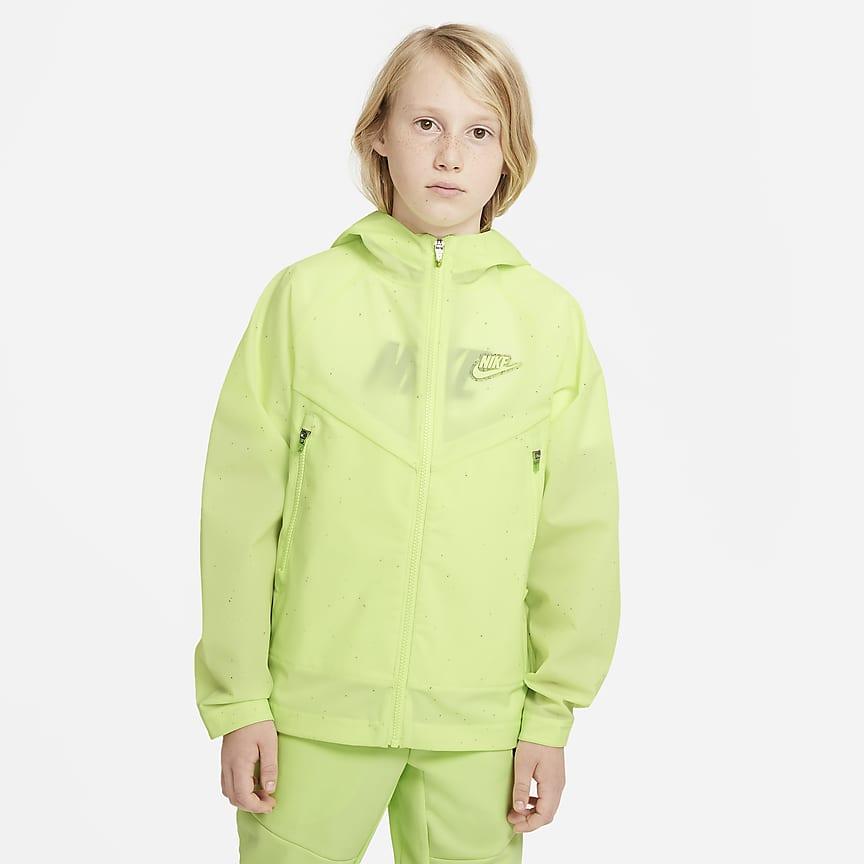 Older Kids' Hooded Jacket