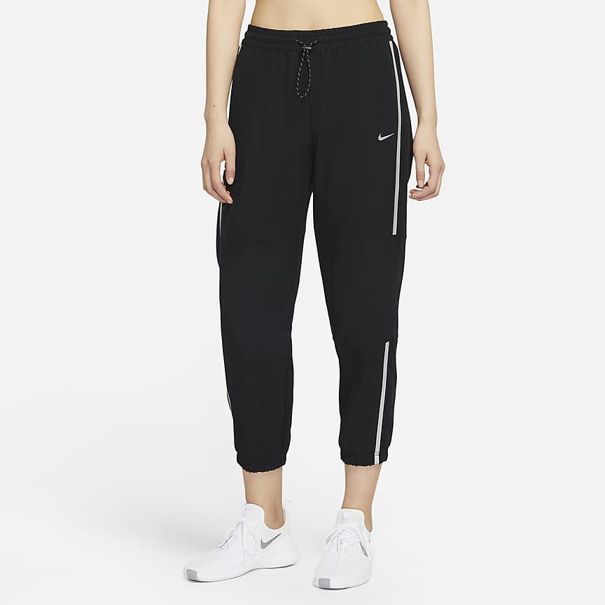 女子梭织训练长裤