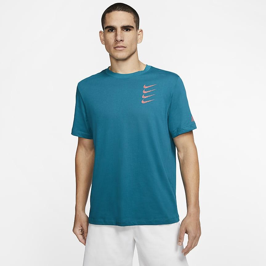 Graphic trenings-T-skjorte til herre