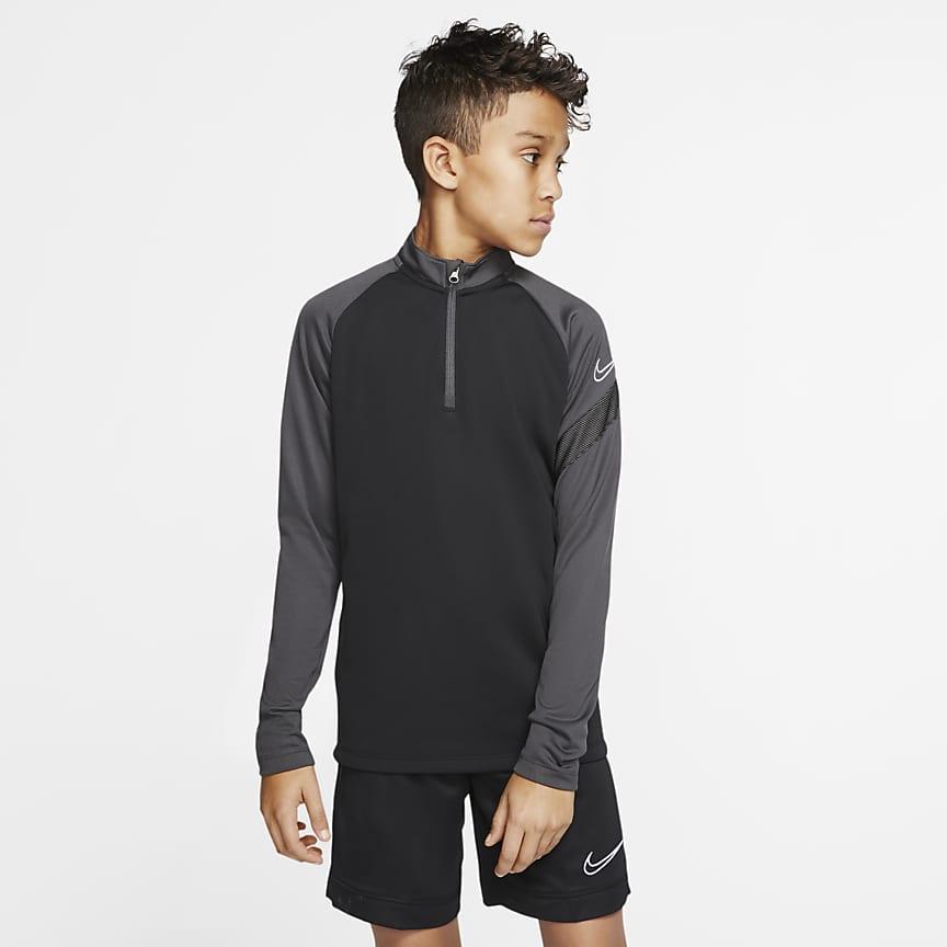Ποδοσφαιρική μπλούζα προπόνησης για μεγάλα παιδιά