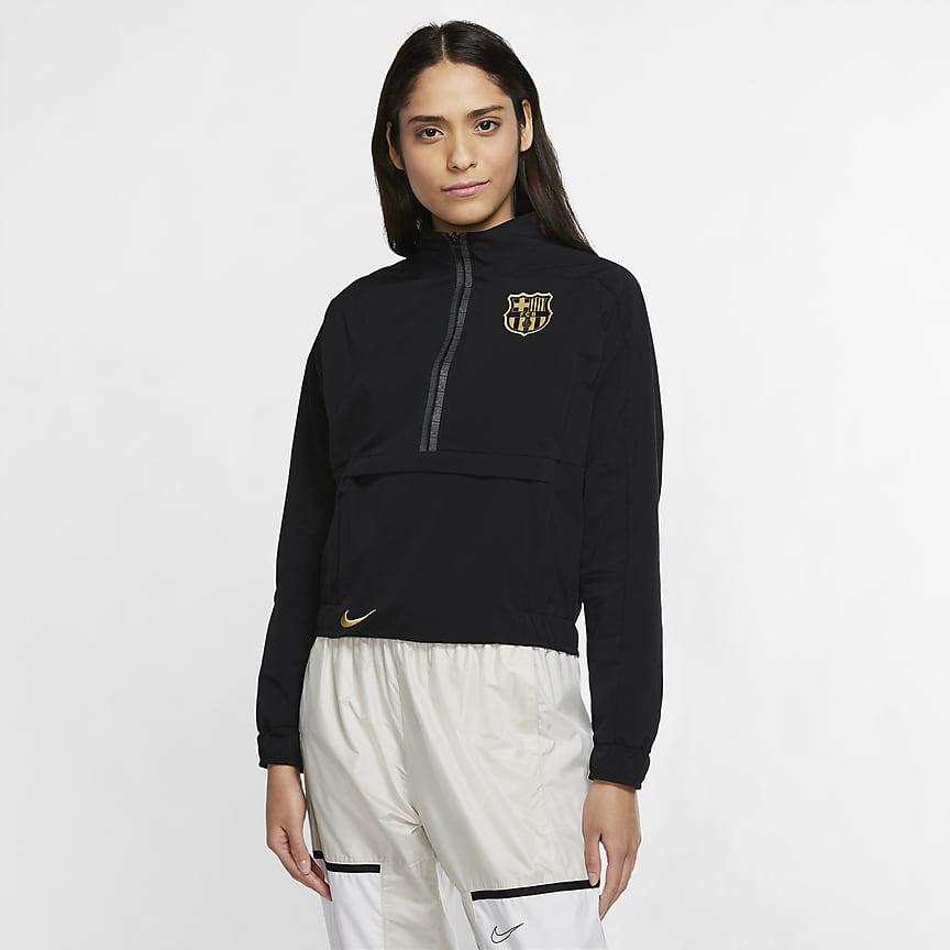Women's 1/4-Zip Football Jacket
