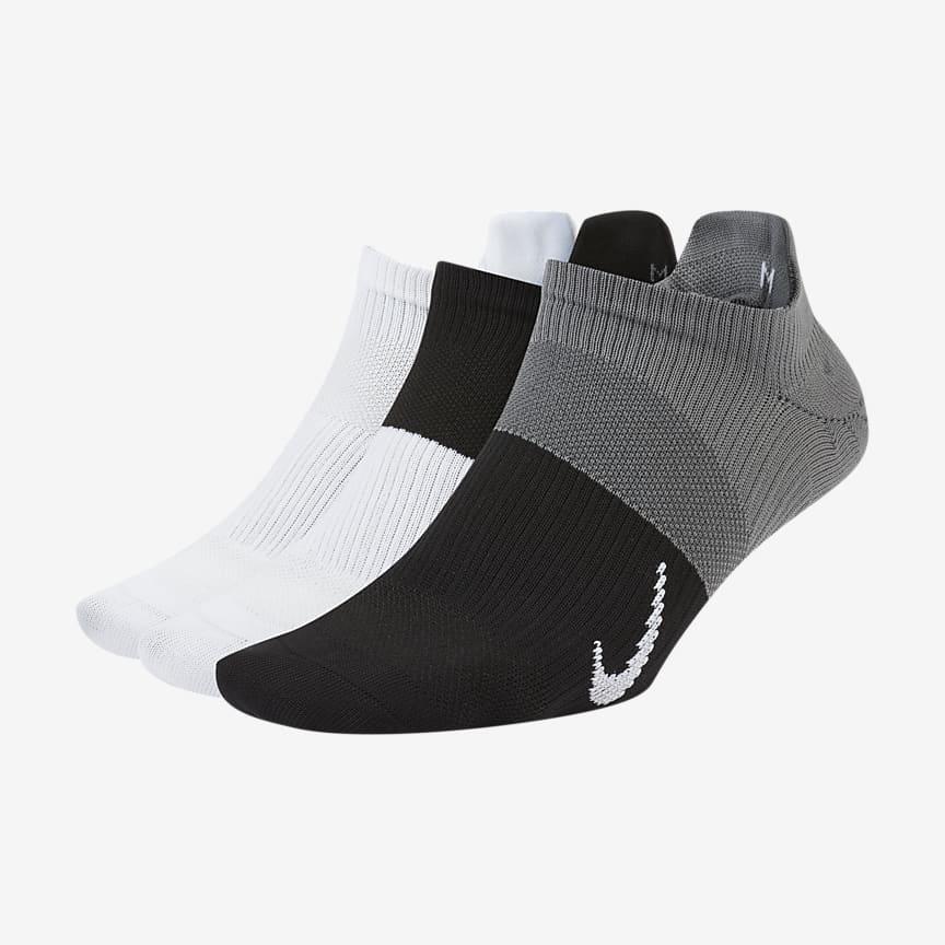 Women's Training No-Show Socks (3 Pairs)