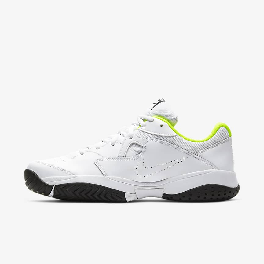 男子硬地球场网球鞋